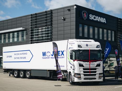Pierwsza w Polsce długodystansowa Scania LNG