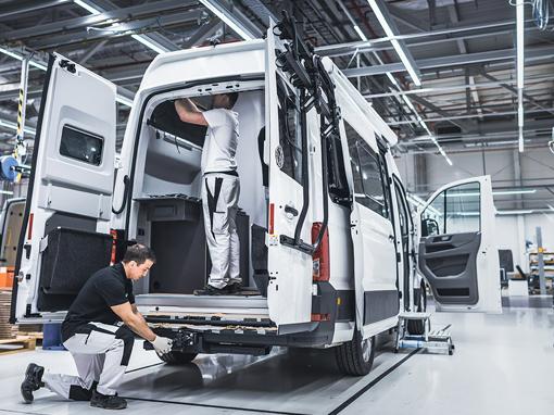 Volkswagen Grand California z Wrześni