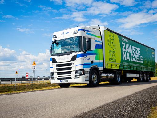 """Scania LNG w programie """"Zawsze na czele"""""""