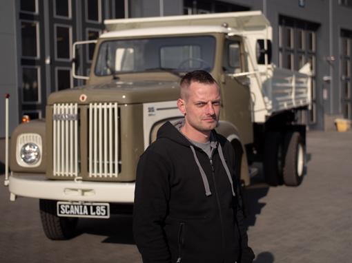 48-letnia Scania L85 Super w pełni blasku