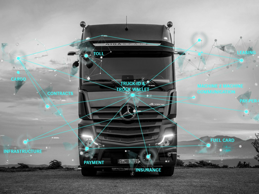 Ciężarówka może sama płacić