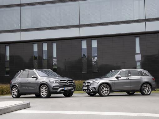 Hybrydowe Mercedesy GLC 300e oraz GLE 350de