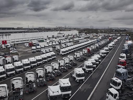 Kryzys nie podciął nóg Renault Trucks