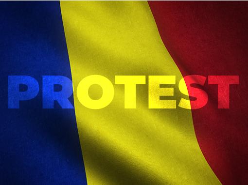 Protest przewoźników w Rumunii