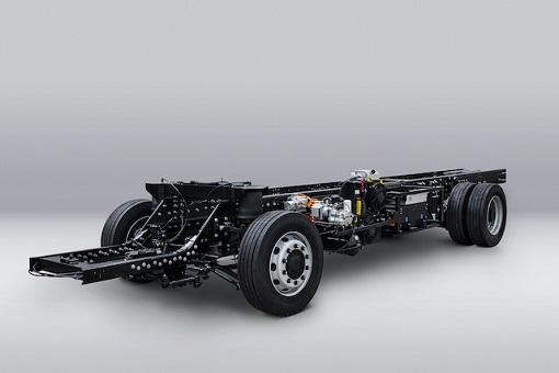 Jest prototyp podwozia Volta Zero
