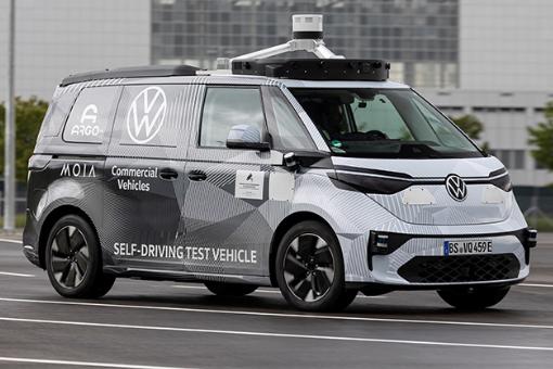Volkswagen ID.BUZZ z funkcją jazdy autonomicznej