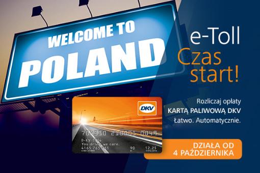DKV CARD akceptowana jako metoda płatności za e-TOLL